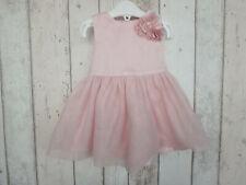 Pretty Baby Girl Pastel Pink Rosette Tuelle Dress - Joe Fresh (3 - 6 months)