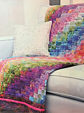 BARGELLO WATERCOLOR VINTAGE QUILT PATTERN