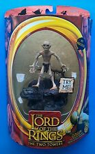 Toy Biz Lord of the Rings LOTR The Two Towers Gollum Sound Base Sealed Mint