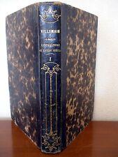 Cours de Littérature Française au XVIIIe Siècle (T. 1) M. Villemain - 1840