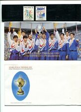 MALAYSIA PRESENTATION PACK *1992 THOMAS CUP CHAMPION # 710