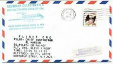 1976 Grumman Gulfstream II Shuttle Training White Sands Missile Al Manson Raimey