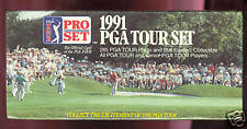 1991 ProSet Golf Complete set PGA Tour FACTORY SEALED