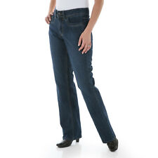 LEE Womens Relaxed Fit Straight Leg Jeans Size 6 Medium Stretch
