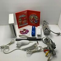 Nintendo Wii Bundle With Super Mario Bros(CIB) and Zumba Fit 2 Controllers Test!