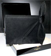 LANVIN, Sac du soir Arpège en velours noir (avec boîte)
