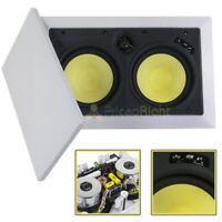 "DCM by MTX Audio 6.5"" 2-Way In-Wall LCR Home Theater Speaker Center TFE2630LCR"