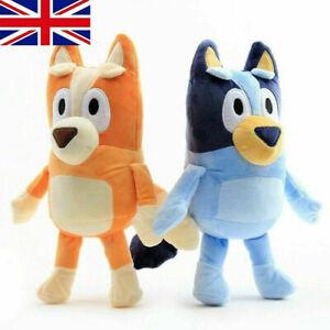 Bluey and Bingo Dog Friends Plush Toy 2PCS 28cm Stuffed Doll Kids Birthday Gift