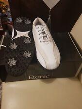 Etonic Golf Shoes , white leather