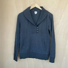 Banana Republic Women's Sweatshirt Top - Grey - Small S - Shirt