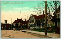 Postcard Suncook New Hampshire South Main Street c1910s Posted Street View