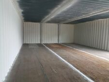 40 X 24. Ft Linked Container Workshop.. Strengthened. Optional Side Doors.