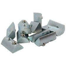 10x Nutenstein 8 St Nut 8 - Typ I - ohne Steg, Federkugel, Stahl verzinkt