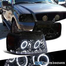 04-08 Ford F150 06-08 Lincoln Mark LT Pickup Smoke LED Halo Projector Headlights