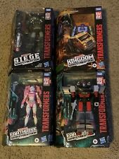 Transformers War For Cybertron Lot Of 4 Figures