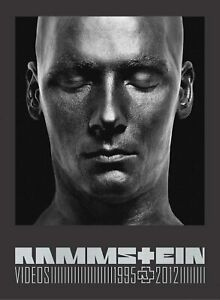 Rammstein: Videos 1995 - 2012 (3DVD Set with 56 page booklet)NEW.