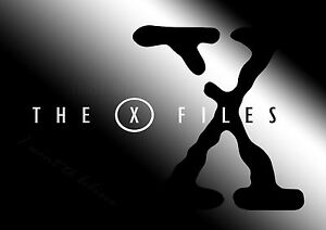 The New X Files Logo Giant Poster - A0 A1 A2 A3 A4 Sizes