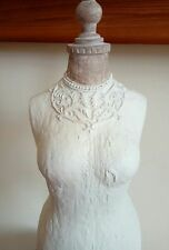Cream beige mannequin ornament....brand new