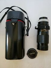 CANON Zoom FD 300mm 1:5.6  Camera Lens w/Cover Untested Vintage for 35mm w/Case