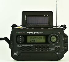New Kaito KA600L Solar Crank NOAA Weather Radio with AM FM Shortwave - Black