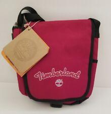 Timberland Hub Underground Havana Red Small Messenger Womens Mens Purse Bag