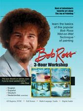 BOB ROSS THE JOY OF PAINTING 3 HOUR WORKSHOP New Sealed DVD