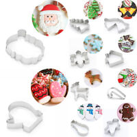 Christmas Stainless Steel Cake Biscuit Cookie Cutter Mold Baking Pastry Tool HOT