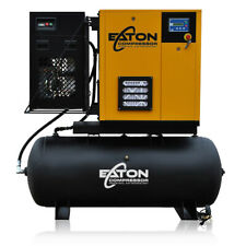 7.5HP Rotary Screw Air Compressor with Dryer Package 120 Gallon Tank