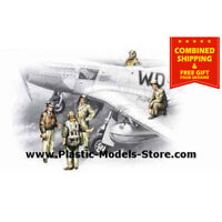 ICM 48083 - 1/48 USSAF Pilots and ground personnel 1941-1945 WWII model kit