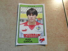 original FOOTBALL STICKERS PANINI FOOT 86 1986 Rudi GARCIA Rookie (Nr 66) Roma