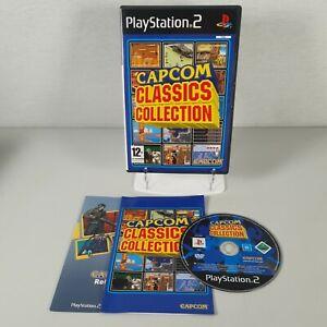 Capcom Classics Collection Vol 1 Playstation PS2 Action Arcade Game Manual PAL