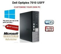 Dell OptiPlex 7010 USFF Core i3 i5 Desktop PC 16GB RAM HDD SSD Windows 10 WiFi