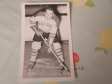 Original Terry LYNDON Harringay RACERS 1950's Ice Hockey Player Photo