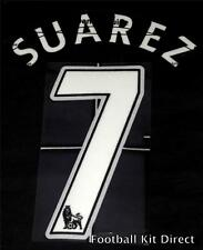 Liverpool Suarez 7 Football Shirt Name/Number Set Child/Youth Printing