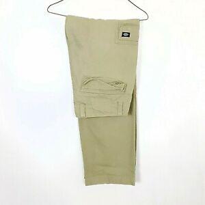 Mens Dickies Cargo Trousers W34 L31   #D162