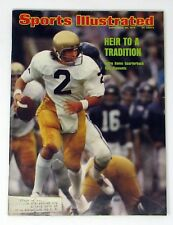 Sports Illustrated September 30, 1974  Tom Clements Heir to a Tradition