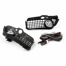 New Bumper Grille Grill With Driving Fog Lamp Light For 1992-1997 VW Golf MK3