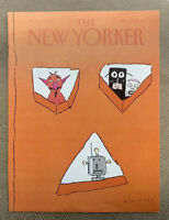 COVER ONLY ~ The New Yorker Magazine, November 2, 1981 ~  R. O. Blechman