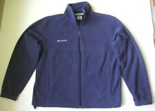 MEN COLUMBIA FULL ZIP FLANKER FLEECE JACKET size MEDIUM