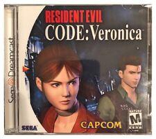 Resident Evil Code Veronica Sega Dreamcast Brand New Sealed NO Cracks or Tears