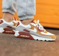 Nike Air Max 90 Shoes Rugged Orange Sail Wheat CV8839-800 Men's Multi Sizes NEW