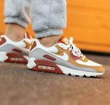 Nike Air Max 90 Shoes Rugged Orange Sail Wheat CV8839-800 Men's Multi Sizes NEW