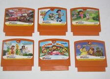Lot 6 Vtech Vsmile Motion Game Cartridge Disney Cars Toy Story Tinkerbell Dora