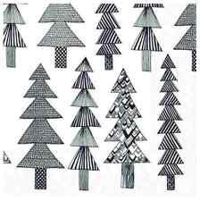 Marimekko paper napkins 24x24cm Kuusikossa, 20 cts decoupaging Finland Christmas