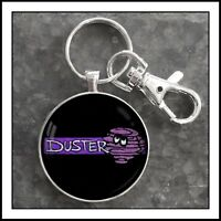Vintage Plymouth Duster Decal Photo Keychain Mopar Gift 🎁