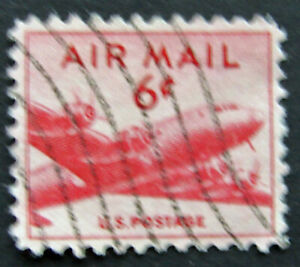 50 UNITED STATES USED AIR MAIL STAMPS SCOTT # C39