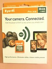 Eye-Fi Pro X2 16GB +WIFI SEALED NEW in box, Class 10 SD card, PC / Mac
