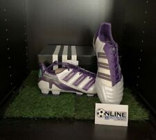 Adidas adipower Predator TRX FG - White/Purple UK 9.5, US 10, EU 44