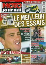 Moto journal # 1857 BMW 1000 De Puniet Kawasaki VN 1700 Honda CBR GP France