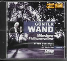 CD Günter Wand `Vol. 3 - Schubert - Sinfonie 9 in C major D944` Neu/OVP MPHIL